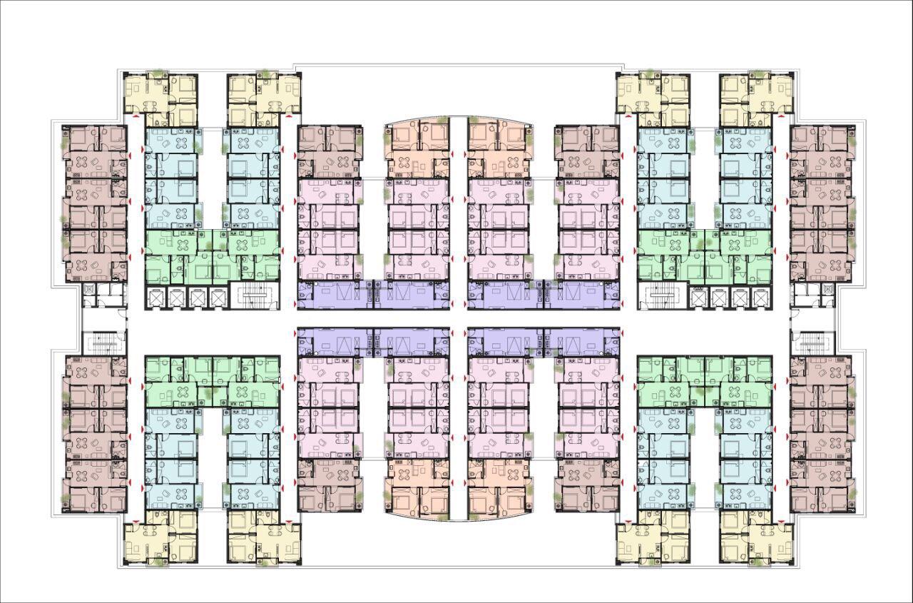 Mặt bằng dự án căn hộ Unico Thăng Long