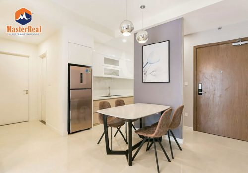 Cho thuê căn hộ Quận 4 Millennium tầng 17