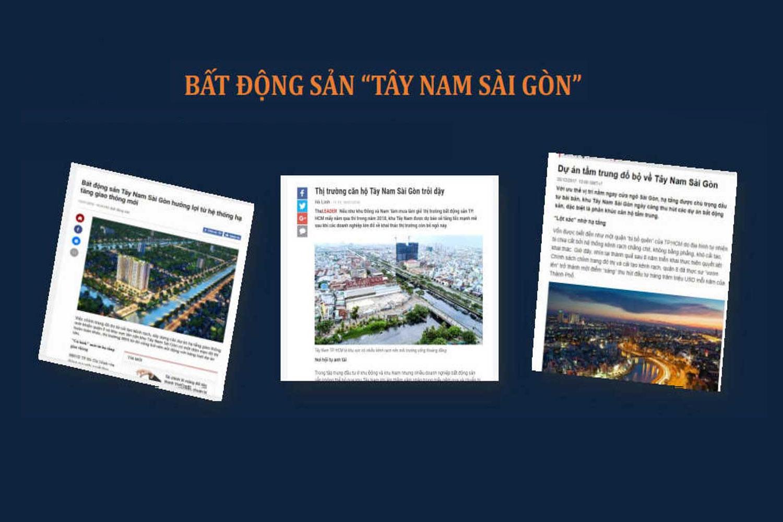 Bất động sản Tây Nam Sài Gòn
