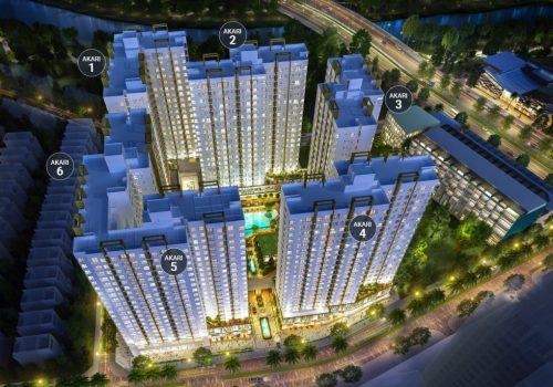 Mặt bằng tổng quan dự án Akari City