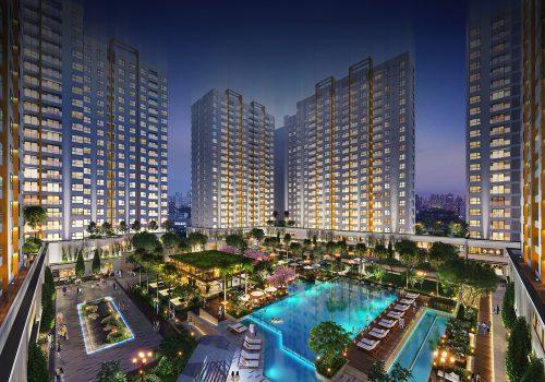 Phối cảnh dự án căn hộ Akari City Bình Tân
