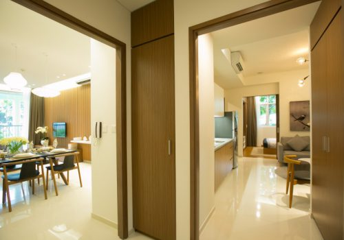 Thiết kế căn hộ Dual Key dự án Akari City