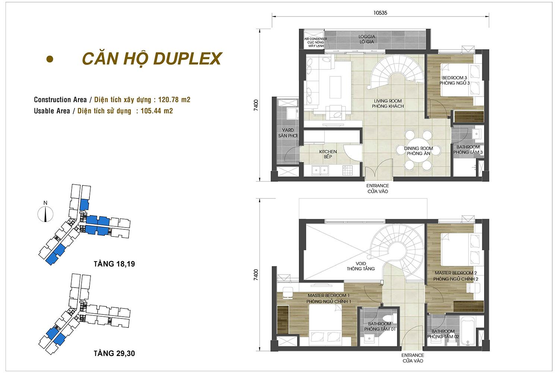 Căn hộ D-Homme Duplex