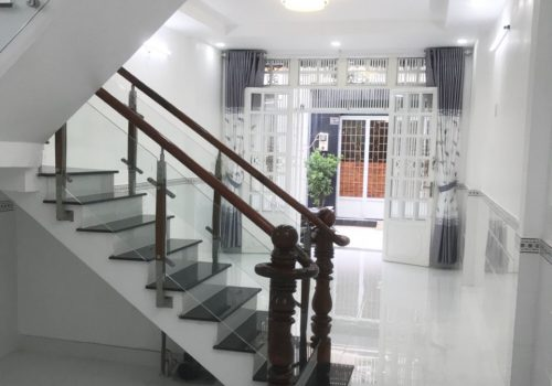 Nhà hẻm phường Bình Hưng Hòa A 01