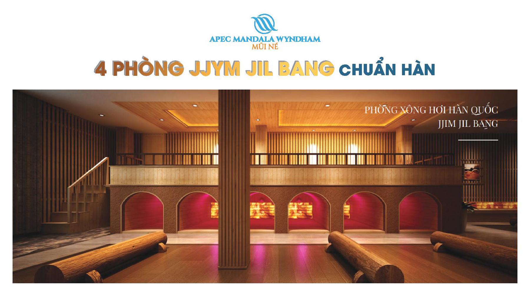 Tiện ích dự án Apec Mandala Wyndham Mũi Né phòng JJym Jil Bang