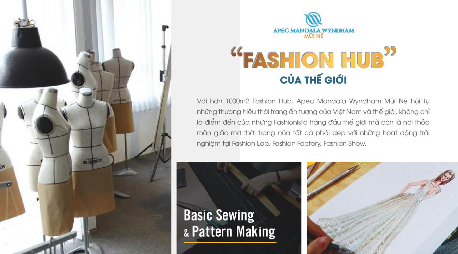 Tiện ích dự án Apec Mandala Wyndham Mũi Né Fashion Hub