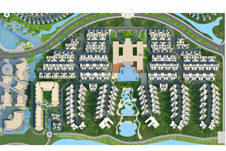 Mặt bằng tổng thể dự án 6 Miles Coast Resort