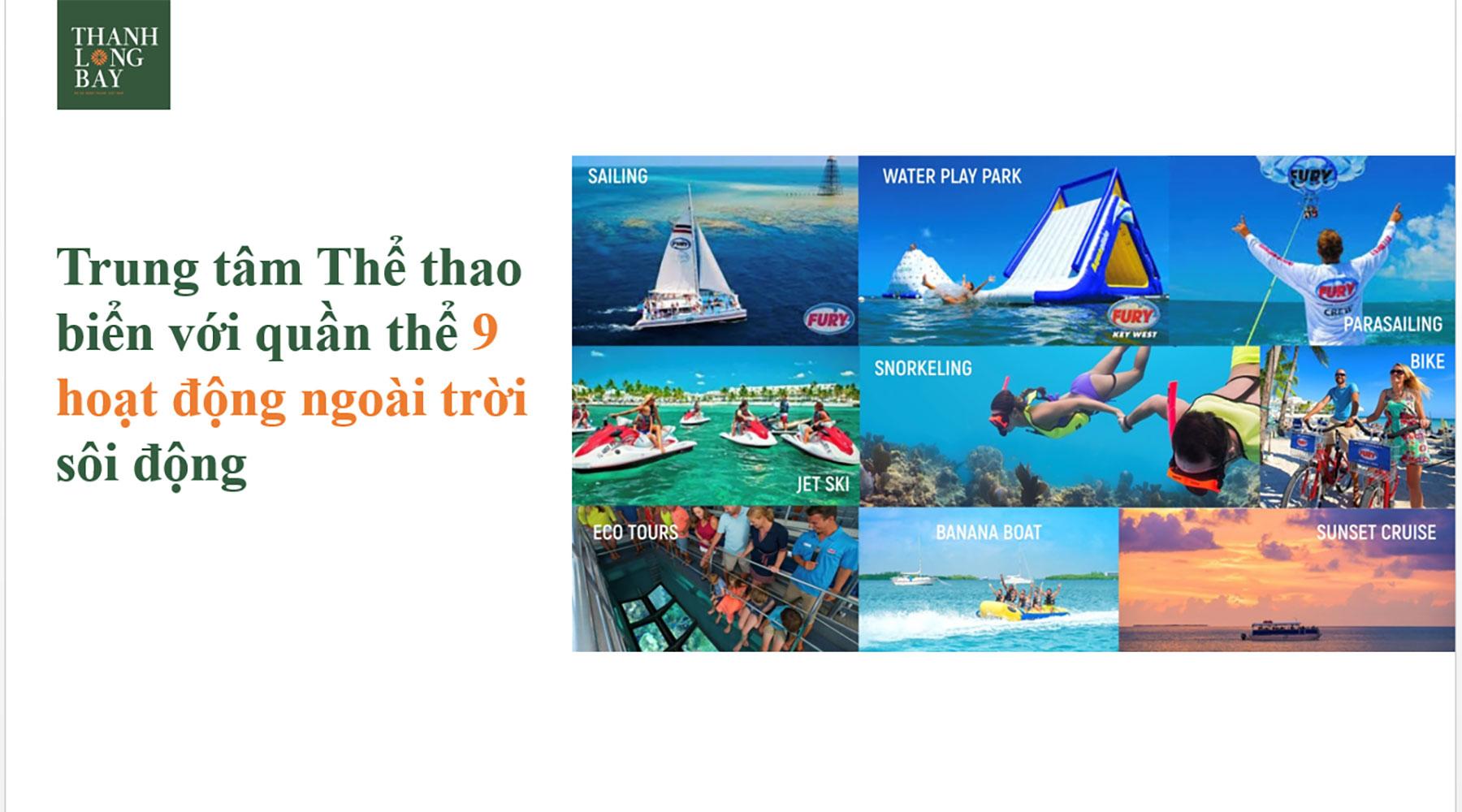 Tiện ích dự án Thanh Long Bay hình 02