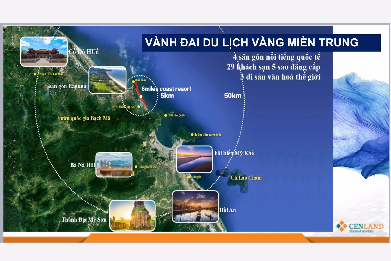 Vị trí dự án 6 Miles Coast Resort 03