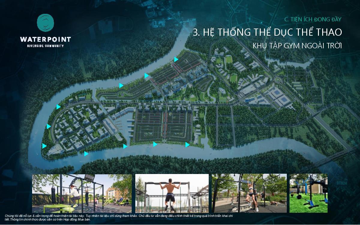 Hệ thống thể dục Waterpoint hình 05