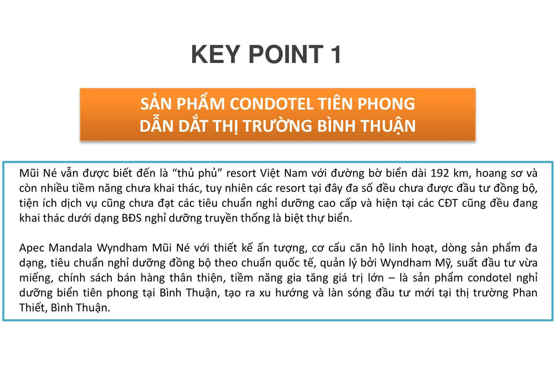 Keypoint 1 dự án Apec Mandala Wyndham