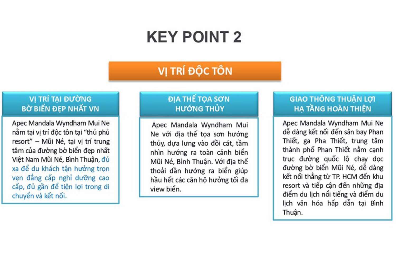Keypoint 2 dự án Apec Mandala Wyndham