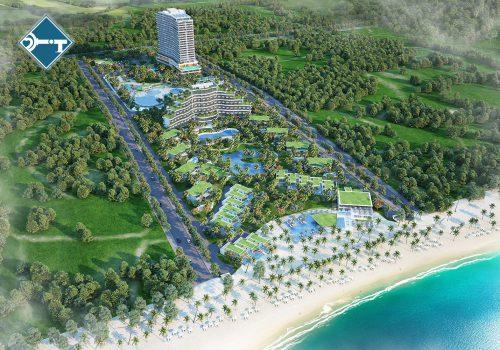 Phối cảnh dự án Cam Ranh Riviera Resort