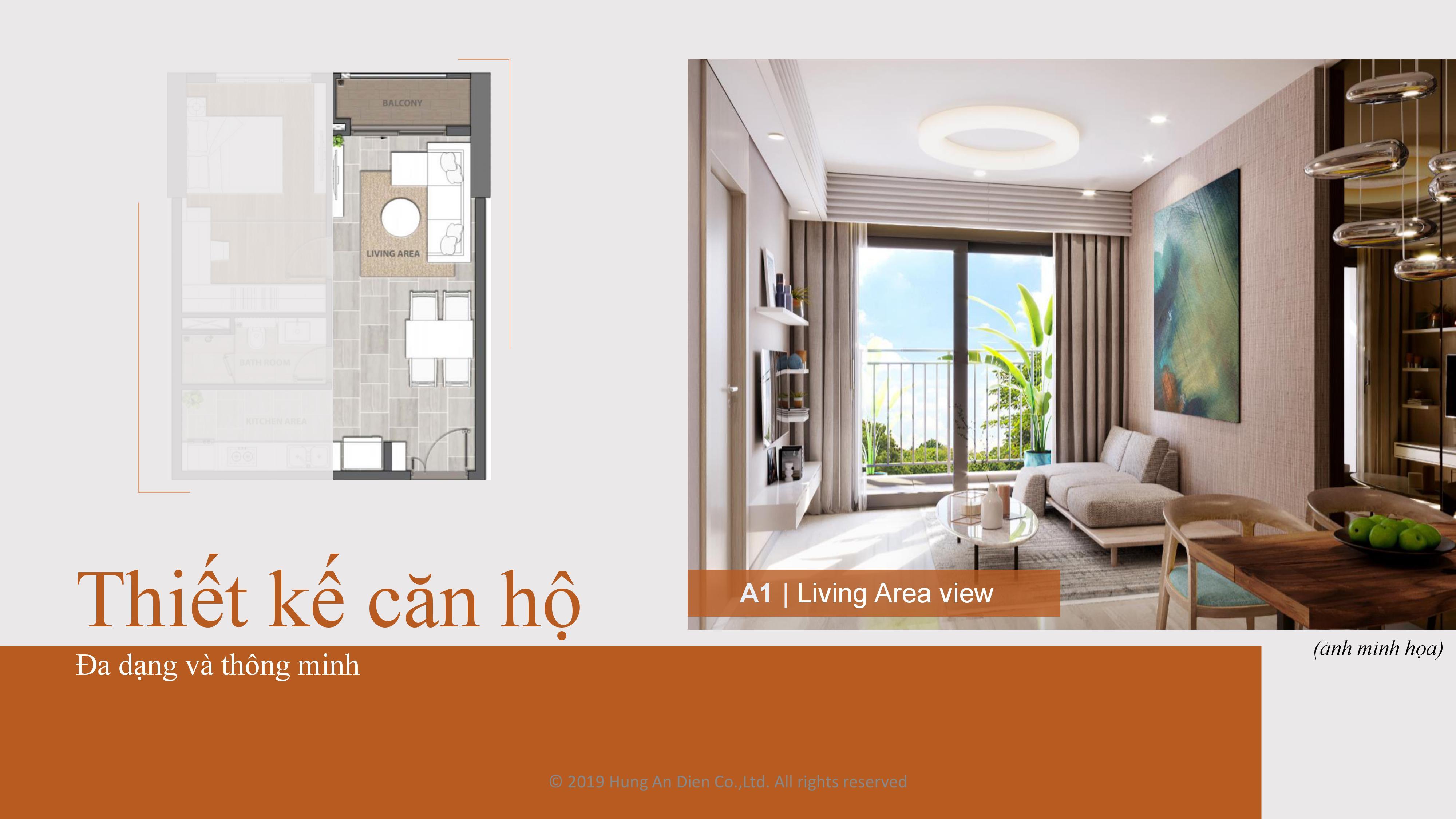 Thiết kế căn hộ Aio City hình 02