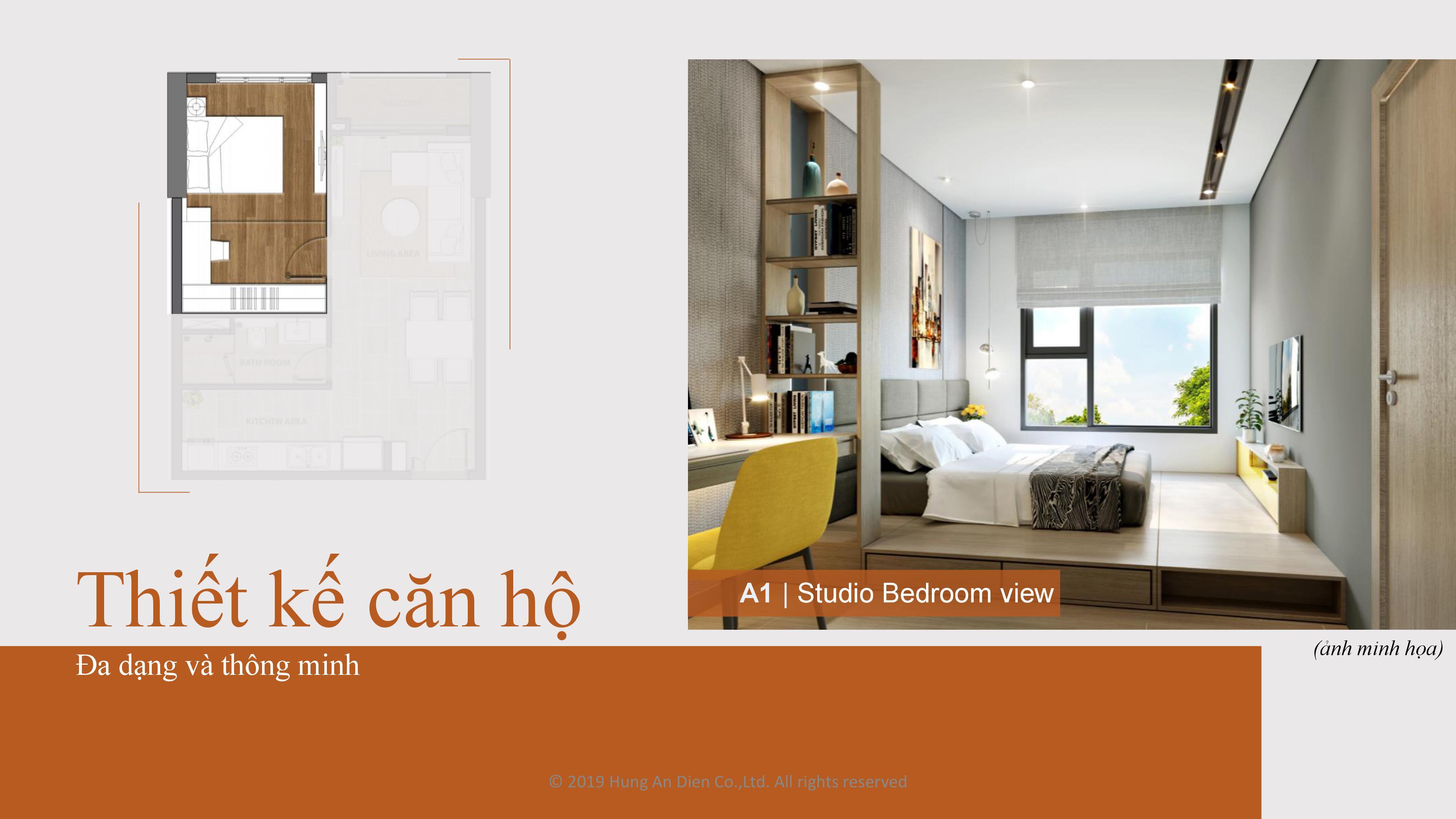 Thiết kế căn hộ Aio City hình 03
