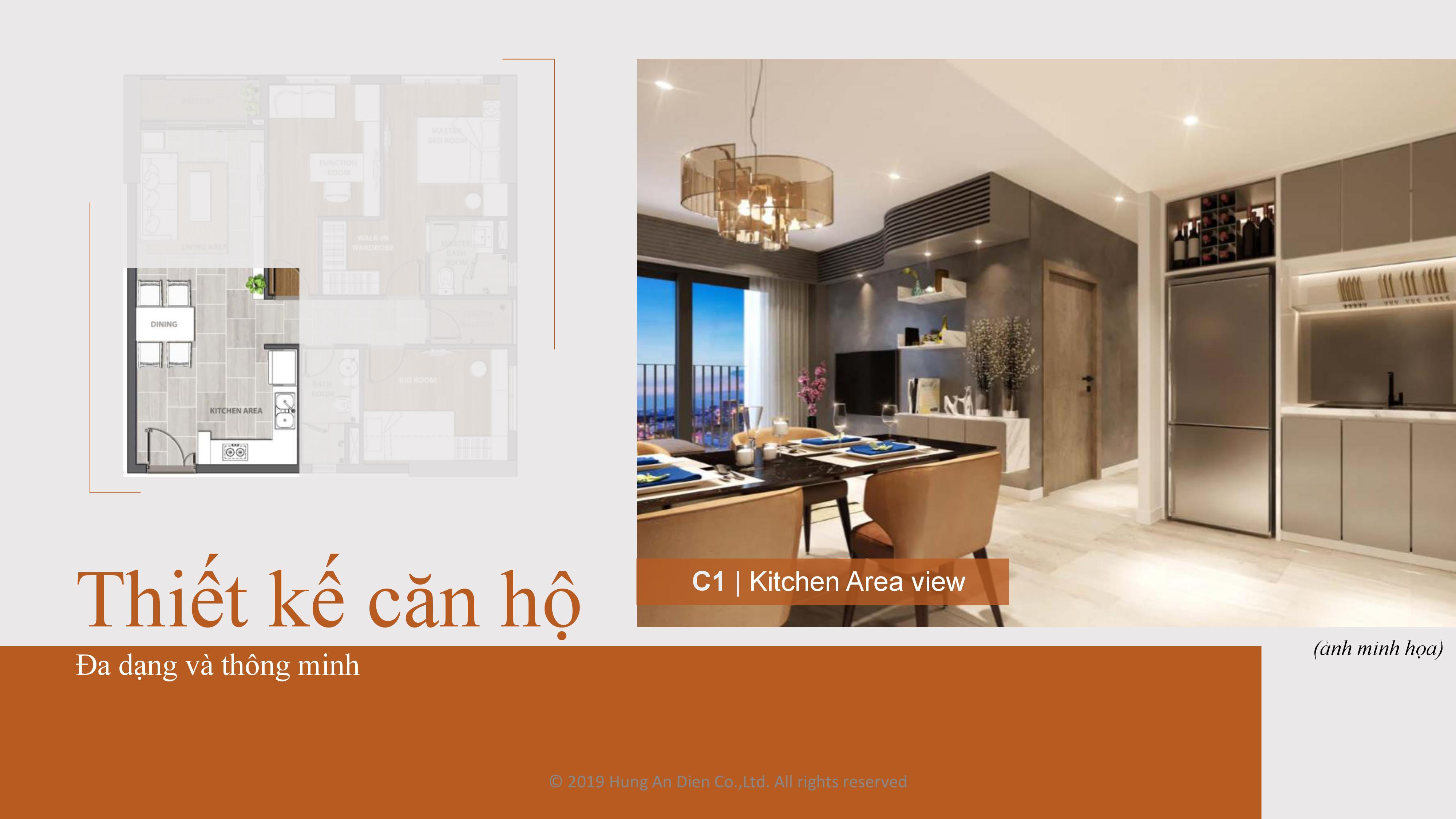 Thiết kế căn hộ Aio City hình 07