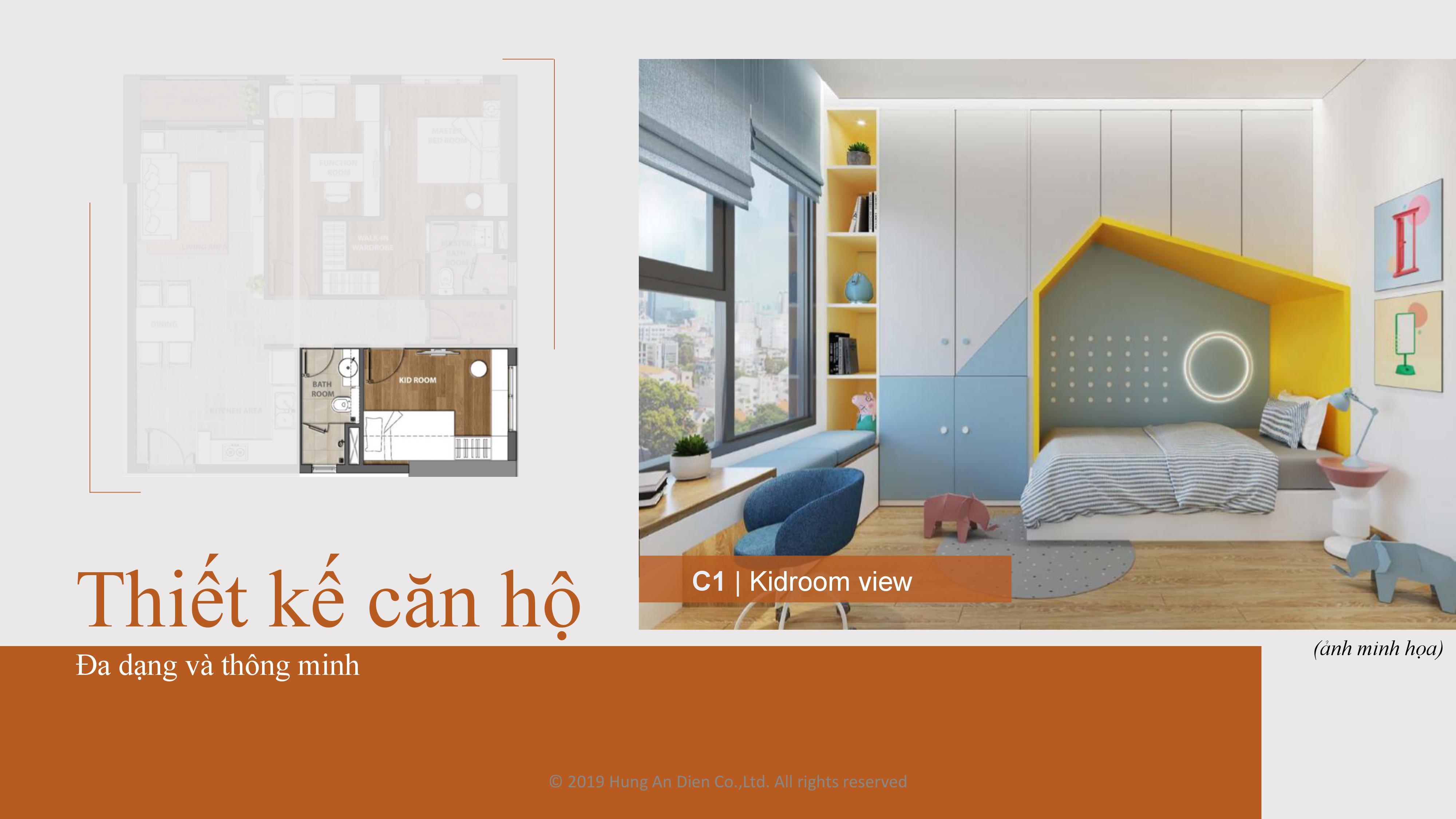 Thiết kế căn hộ Aio City hình 08