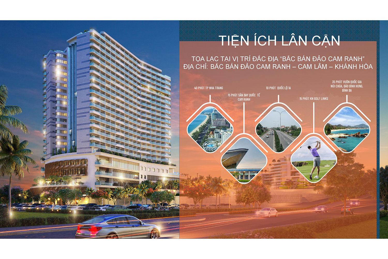 Tiện ích lân cận dự án Cam Ranh Riviera Resort