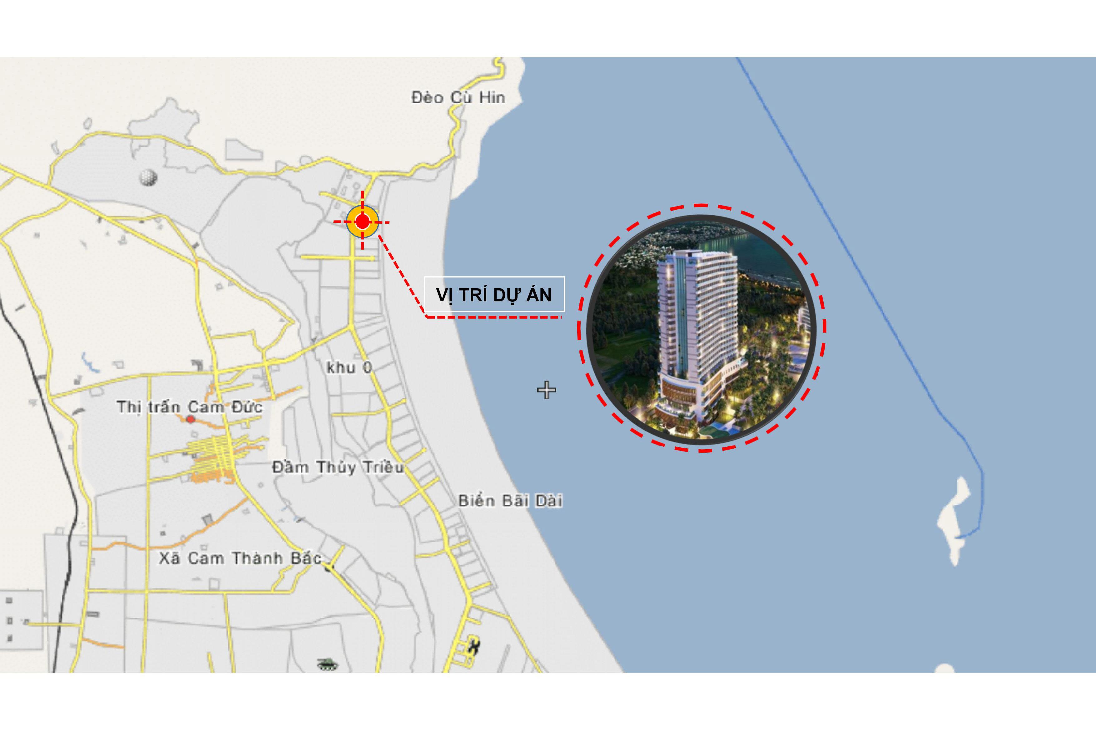 Vị trí dự án Cam Ranh Riviera Resort