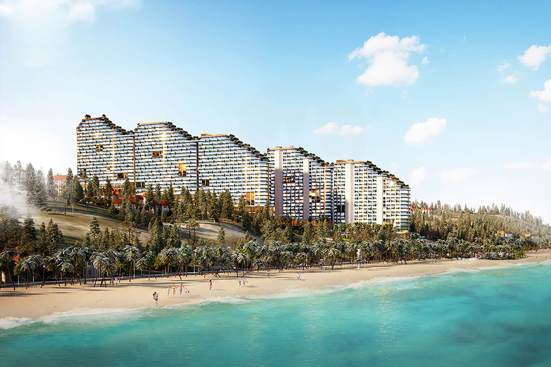 Mô hình Condotel, biệt thự biển thu hút nhà đầu tư