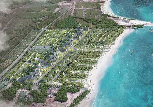 Phối cảnh căn hộ biển dự án Thanh Long Bay