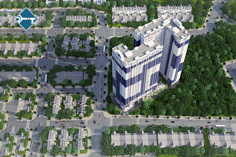 Phối cảnh dự án căn hộ cao cấp C Skyview