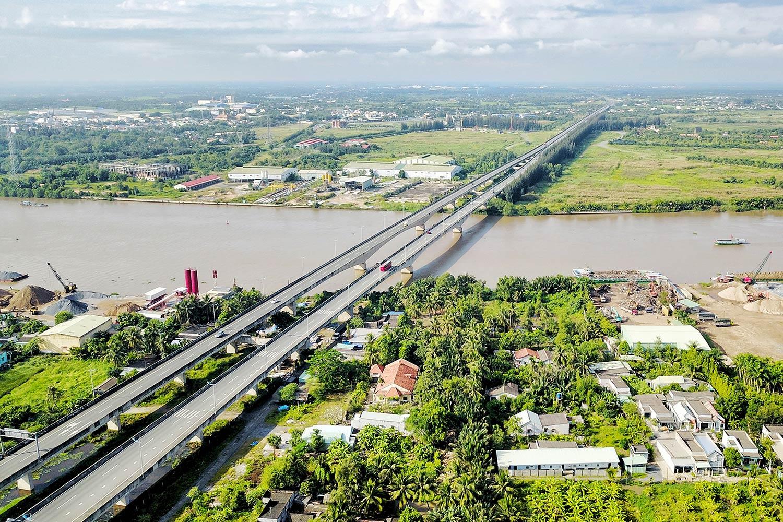 Thị trường bđs Bến Lức Long An hưởng lợi từ hạ tầng
