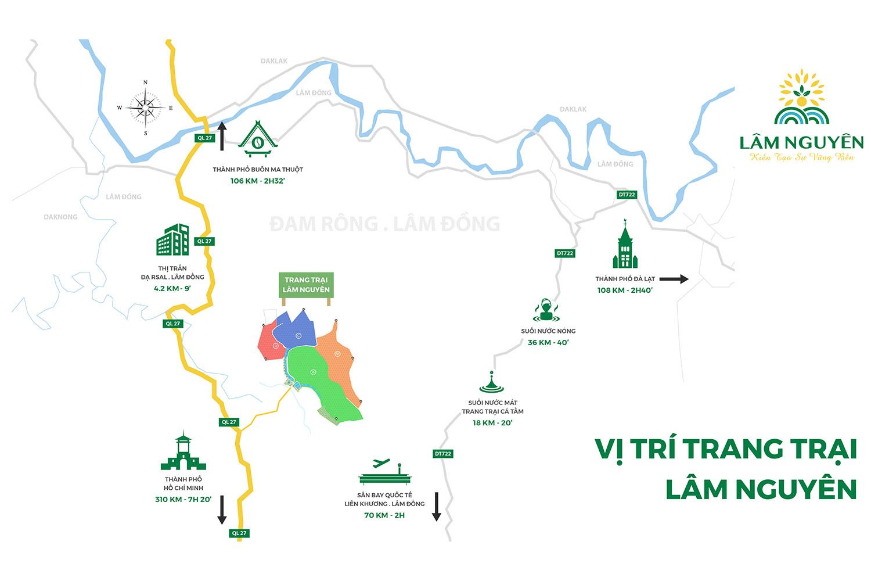 Map trang trại tân Lâm Nguyên