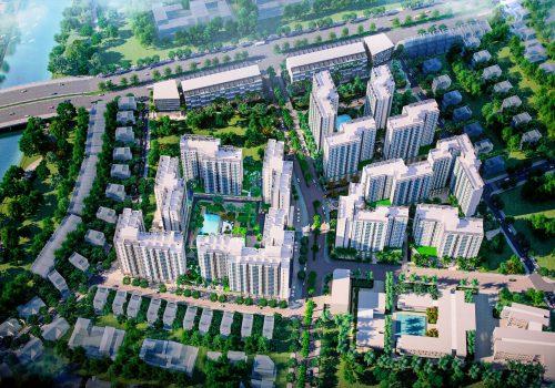 Phối cảnh dự án Akari City Bình Tân của chủ đầu tư Nam Long
