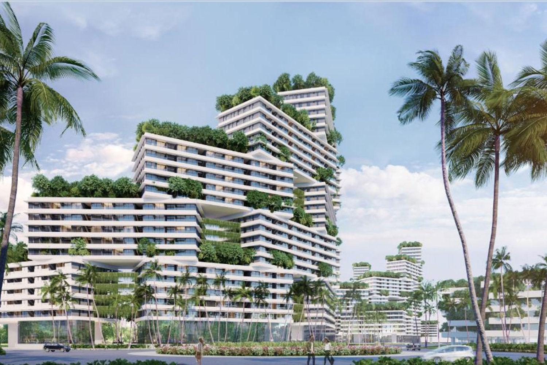 Thiết kế độc đáo căn hộ biển thuộc dự án Thanh Long Bay