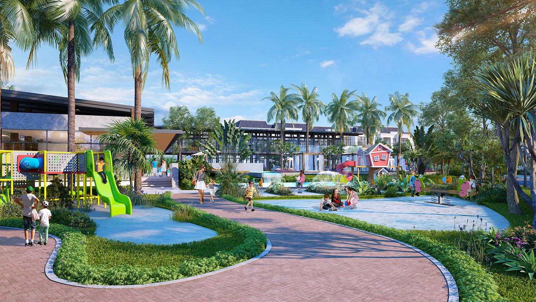 Công viên trong dự án West Lakes Golf & Villas
