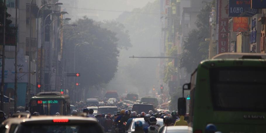 TPHCM đang ô nhiễm ở mức báo động