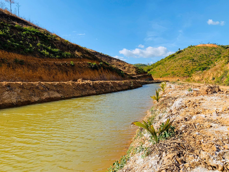 Nguồn nước tại dự án Tân Lâm Nguyên dồi dào quanh năm