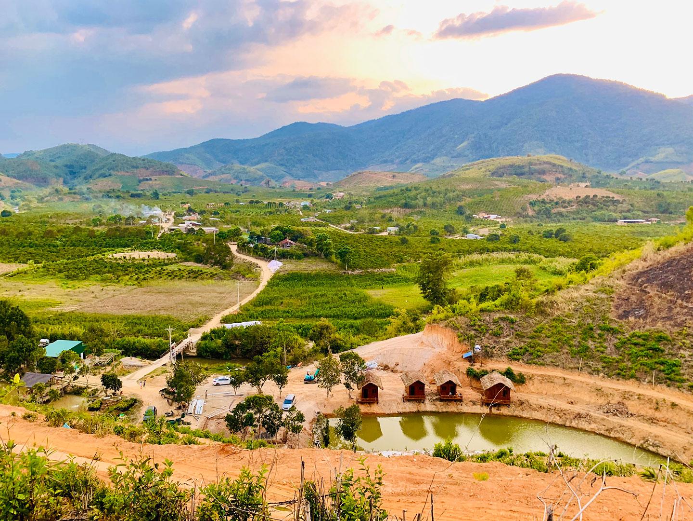 Tân Lâm Nguyên mang vẻ đẹp của núi rừng Tây Nguyên