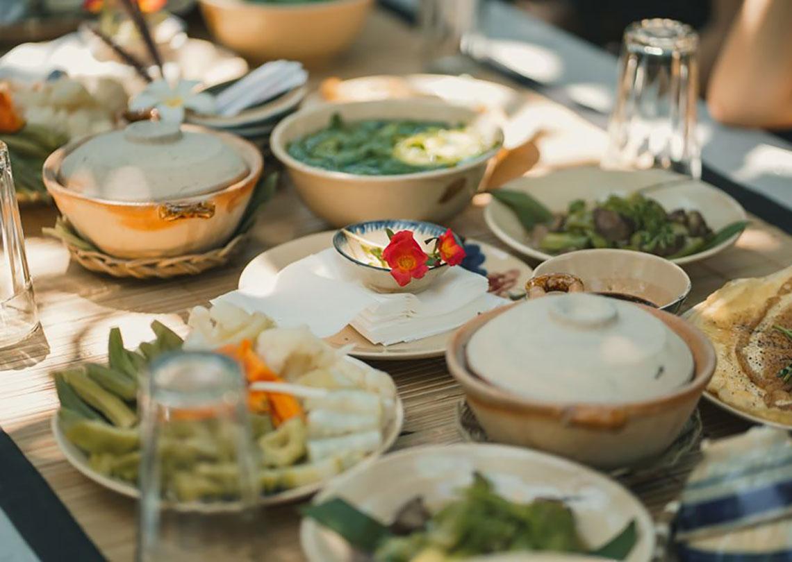 Các món ăn ở An's Garden
