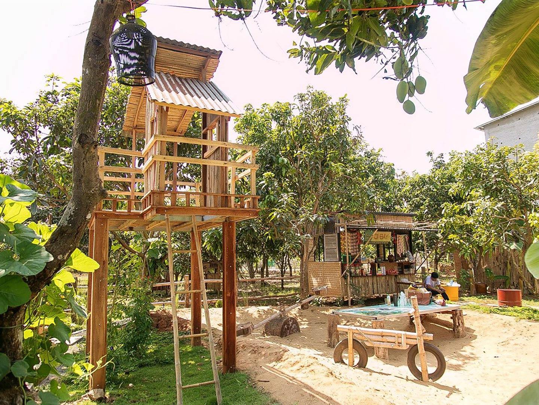 Khu vui chơi trẻ em, an toàn hòa hợp thiên nhiên tại dự án An's Garden