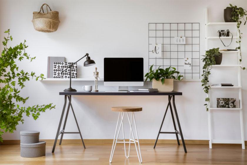 Phòng làm việc tại nhà cần có những khoảng trống tạo cảm giác dễ chịu cho gia chủ