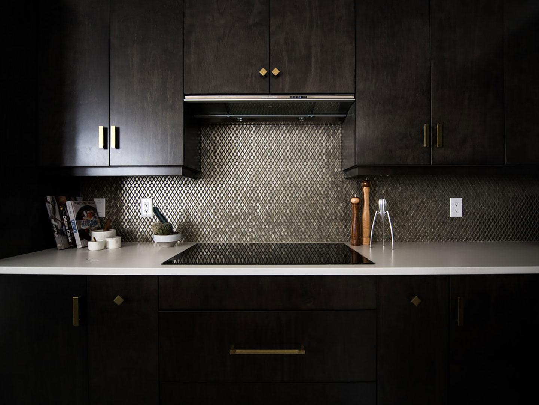 Thiết kế căn bếp tối giản