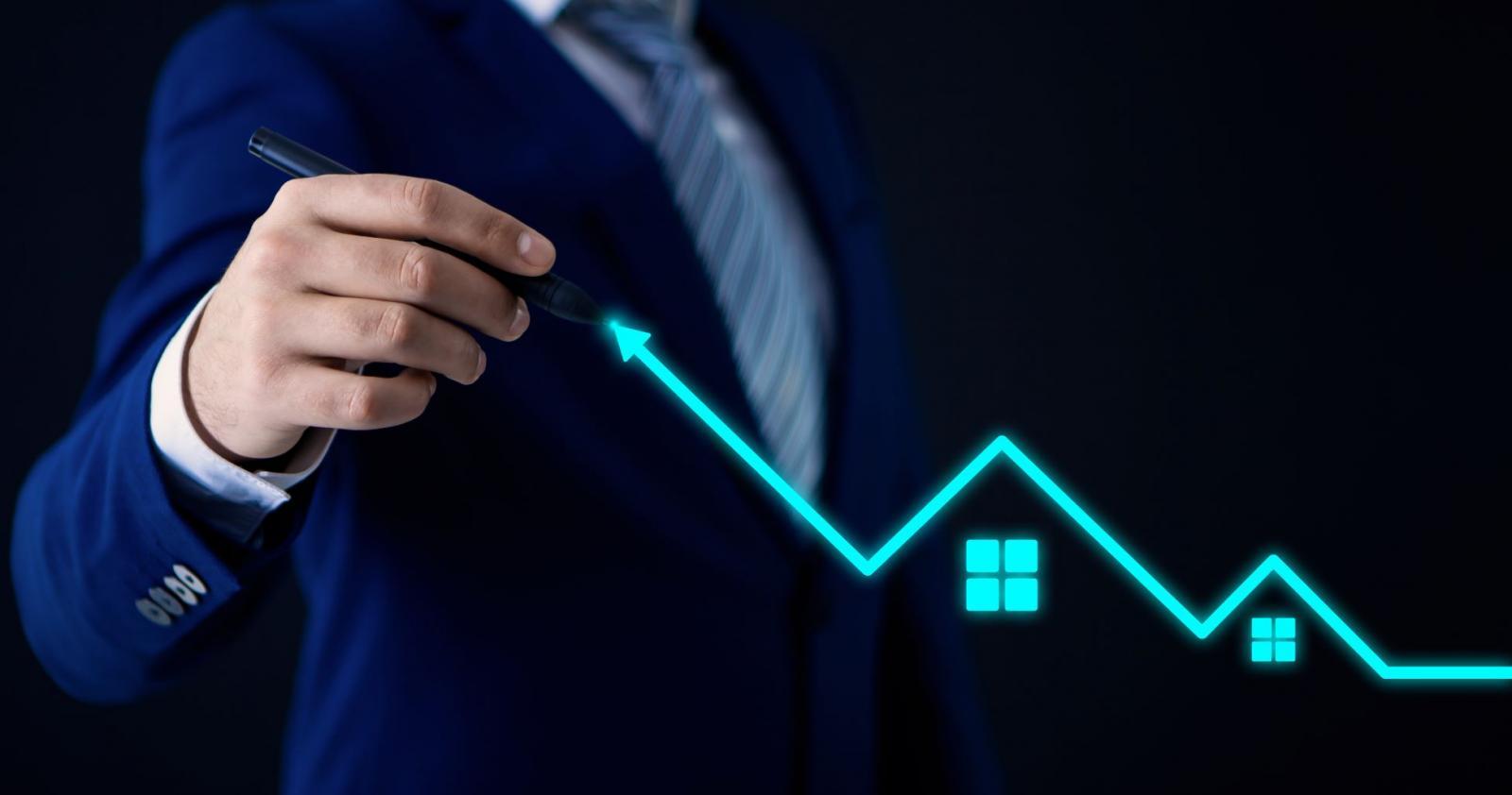 Tìm kiếm vùng giá đáy bất động sản là bài toán cân não chỉ dành cho nhà đầu tư am hiểu thị trường bất động sản. Ảnh minh họa