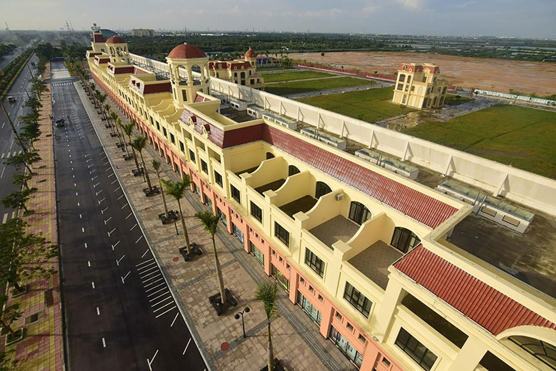 Khu đô thị Our City Hải Phòng do người Trung Quốc làm chủ đầu tư, cư dân sinh sống tại đây chủ yếu là người Trung Quốc