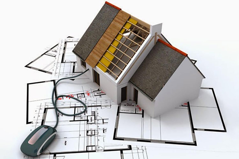 Nếu xây dựng nhà ở riêng lẻ ở nông thôn (trừ khi xây trong khu bảo tồn, khu di tích lịch sử - văn hóa) thì không cần xin giấy phép. Ảnh minh họa: Internet
