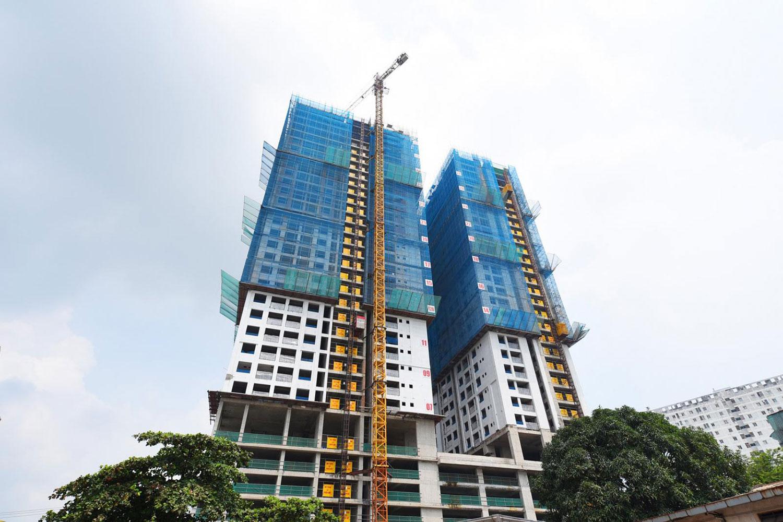 Nhiều dự án căn hộ có giá tầm trung đang được triển khai quanh khu vực lân cận TP.HCM.