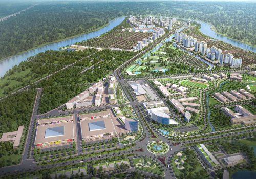 """Toàn cảnh """"thành phố bên sông"""" Waterpoint hiện đại nhưng hài hòa với sông nước và môi trường tự nhiên"""