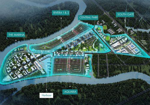 5 phân khu chức năng tại dự án Waterpoint
