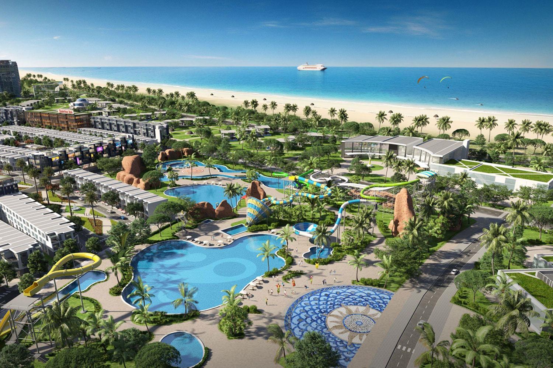 Trong trung và dài hạn, bất động sản nghỉ dưỡng Việt Nam vẫn được đánh giá là kênh đầu tư hấp dẫn. Ảnh minh họa