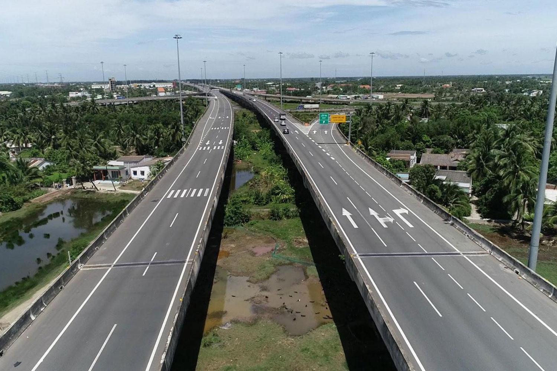 Cao tốc Bến Lức – Long Thành kết nối Long An với sân bay quốc tế Long Thành sắp đưa vào hoạt động