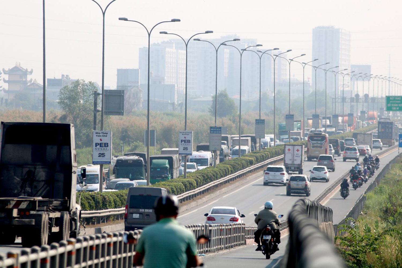 Cao tốc TP.HCM - Long Thành - Dầu Giây có chiều dài 55km
