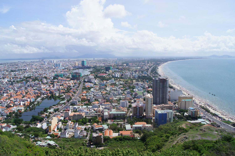 Khu vực quy hoạch đô thị Hồ Tràm có quy mô hơn 5.000ha