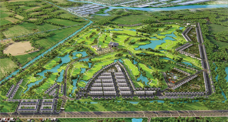 Biệt thự nghỉ dưỡng ngay trong sân golf - West Lakes Golf & Villas