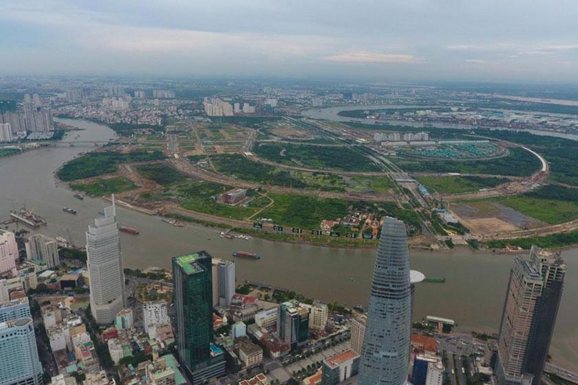 Trong năm 2020 chưa có khu đất nào trong Khu đô thị Thủ Thiêm đấu giá thành công